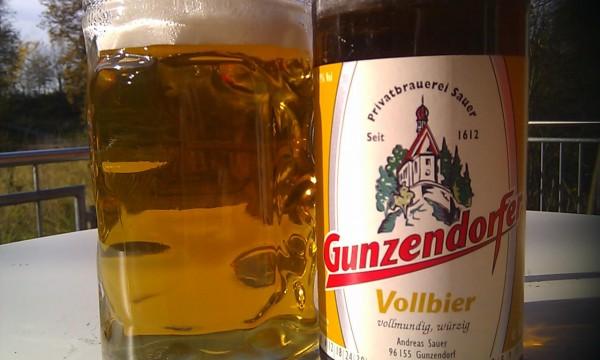 Brauerei Sauer/Gunzendorf: Gunzendorfer Vollbier (Nr. 321)
