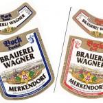 Brauerei Wagner/Merkendorf: Bock Hell & Bock Dunkel (Nr. 375 & 376)