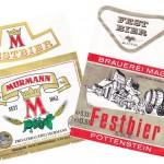 Brauerei Murmann/Untersiemau: Festbier (Nr. 357) & Brauerei Mager/Pottenstein: Festbier (Nr. 358)