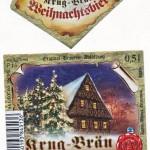 Krug Bräu/Breitenlesau: Weihnachtsbier (Nr. 344)