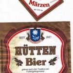 Brauerei Hütten/Warmensteinach: Märzen (Nr. 387)