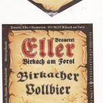 Brauerei Eller/Birkach am Forst: Birkacher Vollbier (Nr. 391)