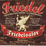 Brauerei Friedel/Zentbechhofen: Friedelsator (Nr. 367)