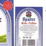 Stadtbrauerei Spalt/Spalt: Helles Vollbier (Nr. 403)