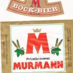 Brauerei Murrmann/Untersiemau Bock-Bier (Nr. 408)