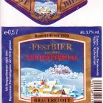 Brauerei Ott/Oberleinleiter: Festbier (Nr. 3)