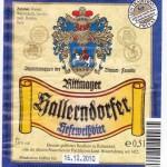Brauerei Rittmayer/Hallerndof: Hefeweißbier (Nr. 19)