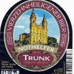Brauerei Trunk/Vierzehnheiligen: Nothelfer Trunk Export dunkel (Nr. 12)