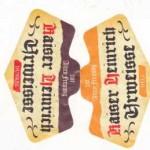 Brauerei Göller/ Zeil am Main: Kaiser Heinrich Urweisse hell (Nr. 1158) & dunkel (Nr. 1159)