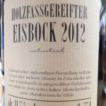 Brauerei Faust/Miltenberg: Eisbock 2012 (Nr. 1188)