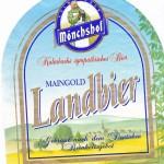 Mönchshof (Kulmbacher AG)/Kulmbach: Maingold Landbier (Nr. 1215)