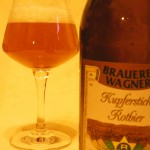 Brauerei Wagner/Merkendorf: Kupferstich Rotbier (Nr. 1289)