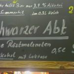 Brauhaus am Kreuzberg/Hallerndorf: Schwarzer Abt (Nr. 1365)