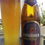 Brauerei Loscher/Münchsteinach: Hefe-Weißbier leicht (Nr. 1695)