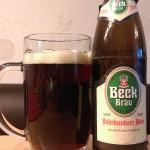 Brauerei Beck/Trabelsdorf: Dunkel/Jahrhundert Bier (Nr. 1886)