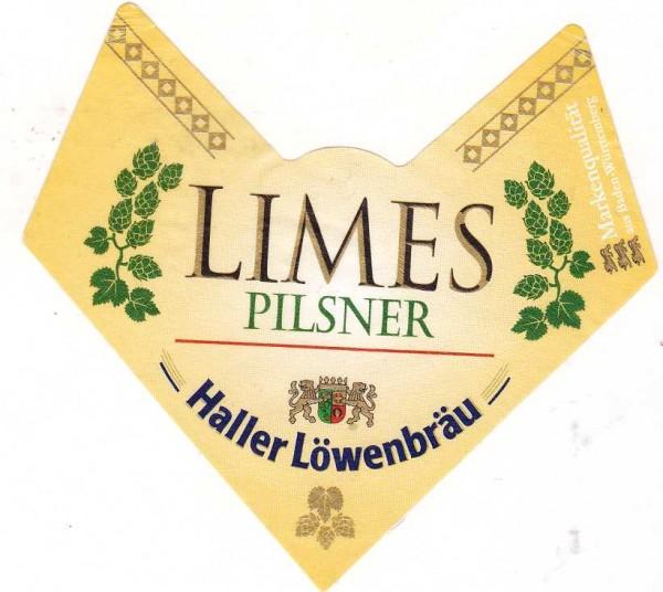 Haller Löwenbräu/Schwäbisch Hall: Limes Pilsner (Nr. 1176)