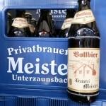 Brauerei Meister/Unterzaunsbach: Vollbier (Nr. 35)
