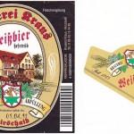 Brauerei Kraus/Hirschaid: Weissbier (Nr. 49)