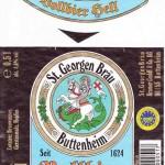 St. Georgen Bräu/Buttenheim: Vollbier Hell (Nr. 37)