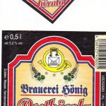 Brauerei Hönig/Tiefenellern: Posthörnla (Nr. 52)