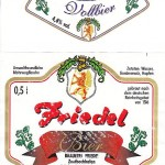 Brauerei Friedel/Zentbechhofen: Vollbier (Nr. 40)