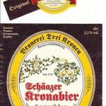 Drei Kronen/Scheßlitz: Schäatzer Kronabier Lagerbier (Nr. 54)