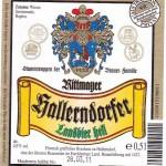 Rittmayer/Hallerndorf: Landbier Hell (Nr. 38)