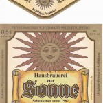Brauerei Sonne/Bischberg: Zunfttrunk (Nr. 29)
