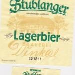 Brauerei Dinkel/Stublang: Lagerbier (Nr. 217)