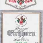 Brauerei Eichhorn/Forchheim: Vollbier (Nr. 81)