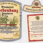 Brauerei Hebendanz/Forchheim: Export-Hefe-Weißbier (Nr. 77)