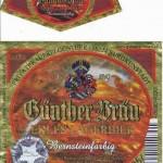 Günther Bräu/Burgkunstadt: Lagerbier Bernsteinfarbig (Nr. 72)