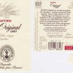 Bayreuther Brauerei AG/Bayreuth: Original 1857 (Nr. 89)