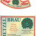 Brauerei Hetzel/Frauendorf: Vollbier (Nr. 208)