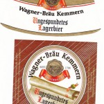 Brauerei Wagner/Kemmern: Ungespundetes Lagerbier (Nr. 154)