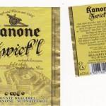 Brauerei Kanone/Schnaittach: Zwick'l (Nr. 140)