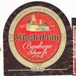 Klosterbräu/Bamberg: Kloster Schwärzla (Nr. 209)