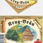 Brauerei Krug/Breitenlesau: Lager (Nr. 210)