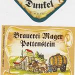 Brauerei Mager/Pottenstein: Dunkel (Nr. 223)