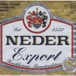 Brauerei Neder/Forchheim: Export (Nr. 226)