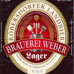 Brauerei Weber/Röbersdorf: Lager (Nr. 232)