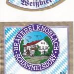 Brauerei Knoblach/Schammelsdorf: Weißbier (Nr. 237)