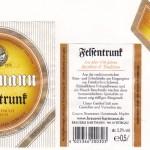 Brauerei Hartmann/Würgau: Felsentrunk (Nr. 137)