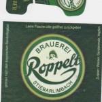 Brauerei Roppelt/Stiebarlimbach: Kellerbier (Nr. 238)