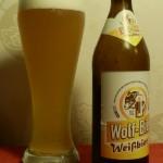 Wolf-Bier/Fuchsstadt (gebraut bei Kauzen Bräu/Ochsenfurt): Weißbier (Nr. 1950)