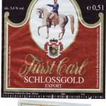 Fürstliches Brauhaus Ellingen/Ellingen: Fürst Carl Schlossgold Export (Nr. 259)