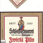 Schlossbrauerei Stelzer/Fattigau: Zwickl Pils (Nr. 265)