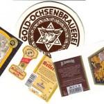 Brauerei Hofmühl/Eichstätt: Original Rother Kellerbier (Nr. 270) & Gessner/Sonneberg: Alt Sumbarcher Dunkel (Nr. 271) & Goldochsen Bräu/Spielbach: Spezial