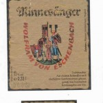 Klosterbrauerei Weißenohe/Weißenohe: Minnesinger Wolfram von Eschenbach Pils (Nr. 313)
