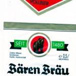 Bären Bräu/Staffelstein: Vollbier (Nr. 300)